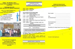 Leaflet KLM 2013 di Unlam_2
