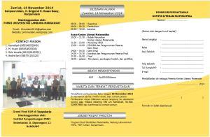 Leaflet KLM 2014 - 2